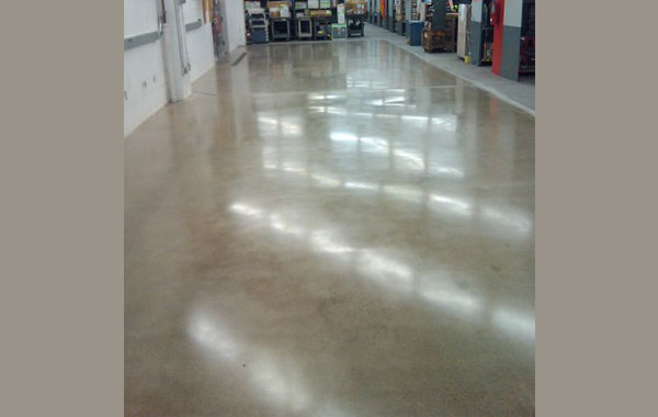 industrial concrete polishing after 2