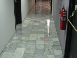 Cowles Center Marble Floor